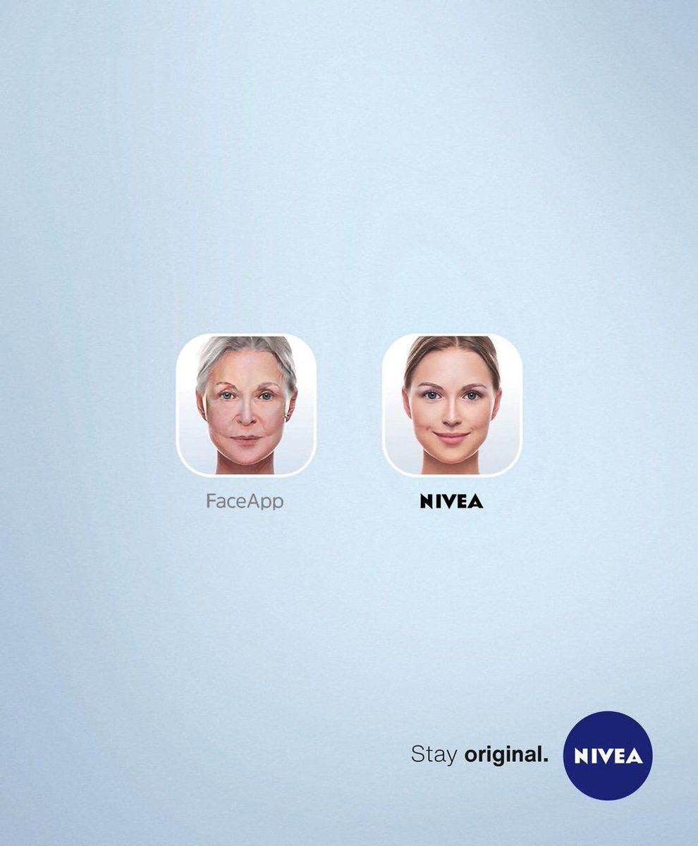 NIVEA ad example how to use Trends